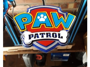 Paw Patrol Multi Colour Logo