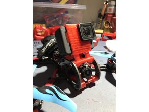 Gopro hero 6/7 mount for Friday FPV Slate frame