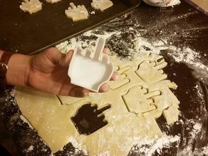 Middle Finger Cookie Cutter