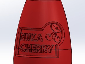 Fallout 4 Nuka Cherry Twisted Cap Bottle