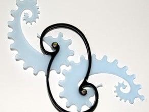 Ratio Seahorse Gears - Acrylic Laser cut