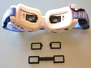 Dominator V2 - Frame for Custom Diopter Inserts