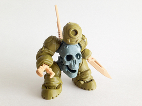 SkullBot 001 - via 3DKToys