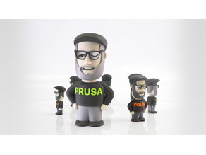 Little Josef Prusa Character - Multi Material