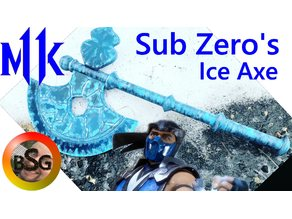 Sub Zero's Ice Axe - Mortal Kombat 11