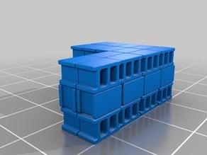 Concrete Block Stacks 1:72 / 20mm Wargaming Scatter Terrain