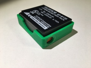 Fuji MP-W126 battery holder