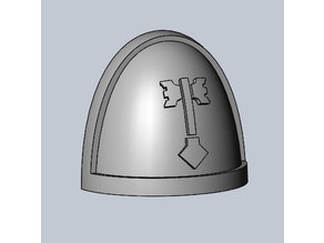 Ultima Founding shoulderpad Warhammer 40k