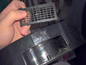 Bobsweep small filter holder grill