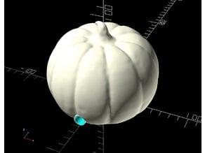 Halloween Pumpkin AtTiny85 neoPixel ring JQ6500