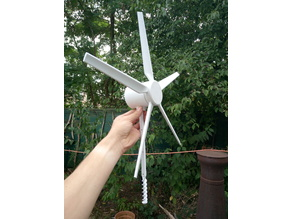 Wind Turbine / Water Pump