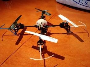 UDI U818A Prop Guards + Added landing Height + Canopy