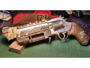 Beyond Good and Evil 2 - Knox's pistol (Prop replica)