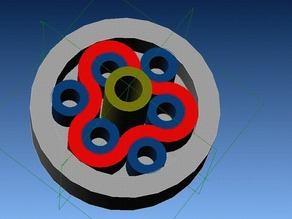 3d Printable Rotary Rolamite Bearing