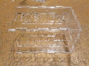 Super easy Laser cut acrylic box / candle holder / pen holder