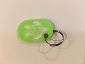 Turtle Keyfob