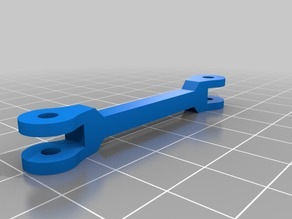 Smallest possible Raspberry Pi camera mount for Anet A8 (AM8) - Longer Lower arms