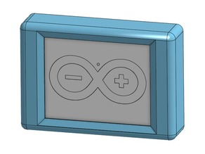 "Adafruit 2.8"" TFT LCD Enclosure with GoPro mount"