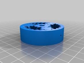 Parametric Peristaltic Pump 4mm Tube 3 inner Diameter 0.5 Tube Walls