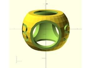 Round Neckerchief Slide or Woggle
