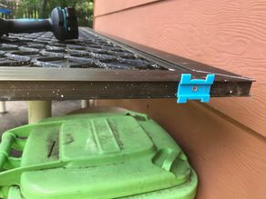 Security Screen door top mount