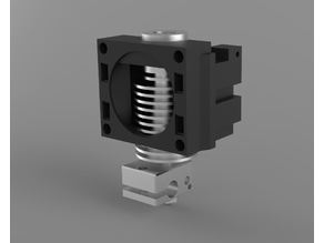 V6 hotend carrier for Anycubic i3 Mega direct drive extruder