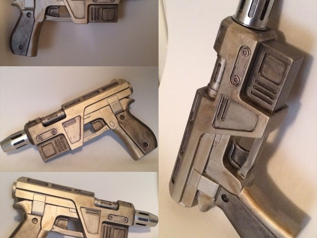 Poe Dameron's Blaster from Star Wars The Force Awakens w6d1T