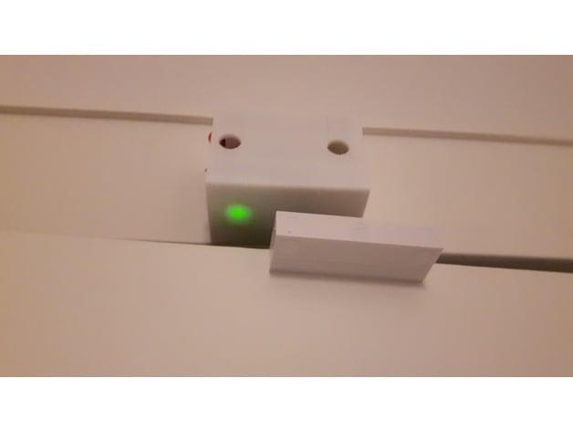 ESP8266 Door Contact Housing by esra - Thingiverse