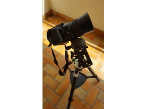 "Mount for Samyang 135mm and Star adventurer or any 1/4"" tripod."