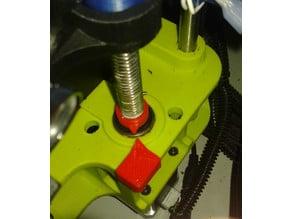 Lulzbot Taz 6 leadscrew indicator