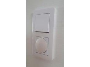 Xiaomi Mija wireless wall switch bracket - for Schneider Exxact