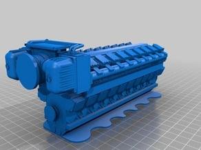 man diesel motor