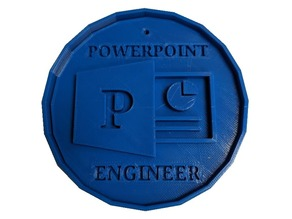 PowerPoint Engineer Badge