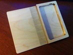 iPhone 4 folding book case.