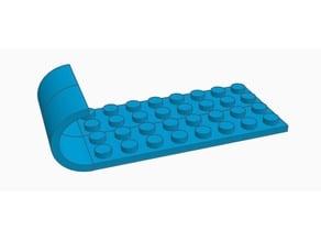 LEGO sled / skis