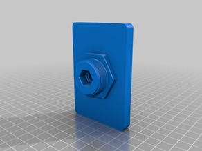 Slim Raspberry Pi case for Wanhao Duplicator 6