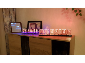 Lixie Clock with colons and ESP8266 NodeMCU