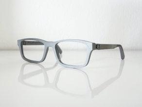 Lunettes VTO | VirtualTryOn.fr 3D Printed Glasses (flat)