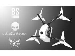 Skull and Drones Airster Dragster