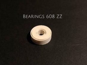 Bearings 608 ZZ Kugellager