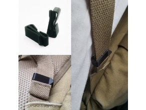 Backpack Strap Holder/Clip