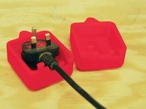 Equipment plug lockout
