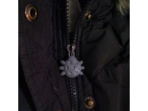 Ladybird zip puller from paperclip