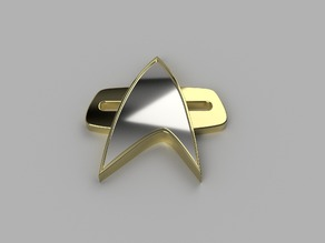 Voyager DS9 Comm Badge