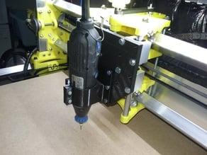 Mount for 50mm diameter dremel like for R-CNC