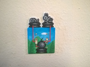 Terraria Statue Lightswitch cover