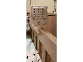 Baby Monitor Bedstead edge stand