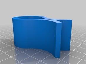 Curve bag clip