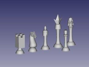 Code Geass Chess Set