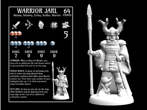 Warrior Jarl (18mm scale)